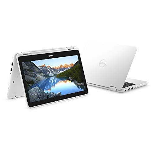 "2018 Dell Inspiron 3000 11.6"" 2-in-1 Touchscreen Laptop/Tablet PC, 7th Gen AMD A6-9220e 2.5GHz Processor, 4GB 2400MHz DDR4, 32GB SSD, Bluetooth, WiFi, MaxxAudio, Windows 10 (White)"