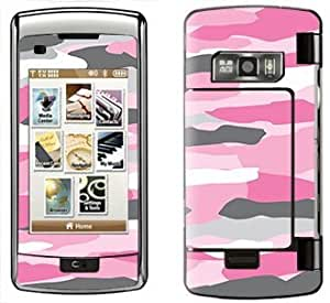 Pink Camo Skin for LG enV Touch NV Touch VX11000 Phone