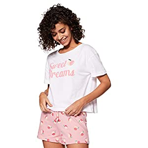Amazon Brand – Eden & Ivy Women's T-Shirt & Shorts Set