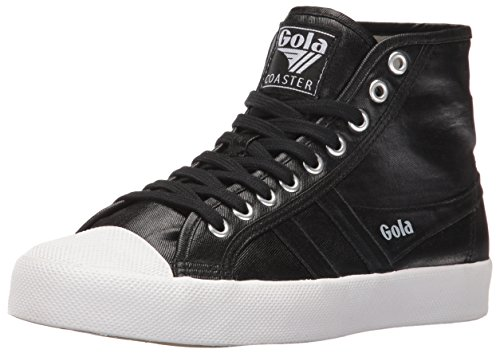 GOLA SCARPE COASTER METALLIC HIGH BLACK-BLACK