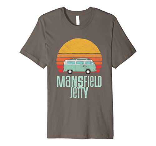 Mansfield Jetty Texas Beach Hippie Van Retro Surfer - Shops Jetty Road