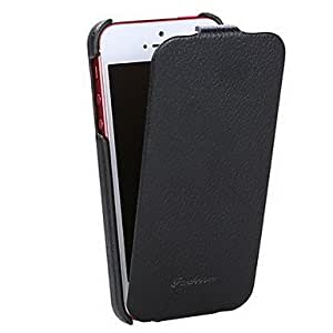 compra Cubierta de moda de lujo genuino del tirón de cuero delgada para el iPhone 5 , Blanco