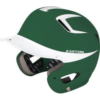 Easton Junior Natural Grip 2Tone Batting Helmet, (Natural Grip Batting Helmet)