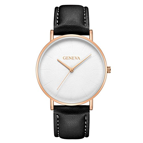 Lover Watch Gold (Paymenow Watches, Casual Lover Couple Men Women Unisex Business Watches Simple Analog Quartz Wrist Watch (M))