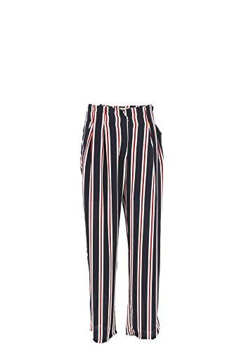Pantalone Donna Yes-zee L Blu P399 Ed00 Primavera Estate 2017