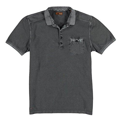 emilio adani Herren Poloshirt, 25179, Grau
