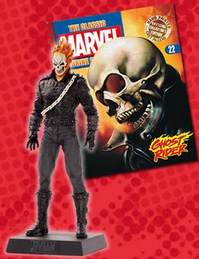 The Classic Marvel Figurine Collection #22 Ghost Rider for sale  Delivered anywhere in USA