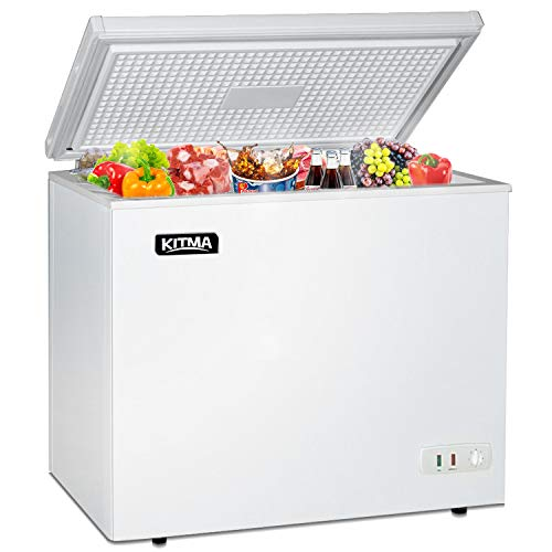 Commercial Top Chest Freezer - Kitma 7 Cu. Ft