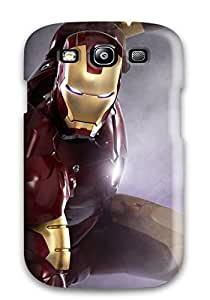 Donald P Reed Perfect Tpu Case For Galaxy S3/ Anti-scratch Protector Case (iron Man 2 Movie Still)