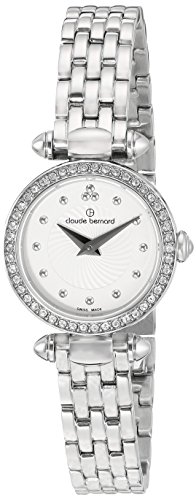 Claude Bernard Women's 'Mini Collection' Quartz Stainless Steel Dress Watch, Color:Silver-Toned (Model: 20209 3PM AIN)