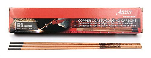 Victor Arcair 22033003 Gouging Electrodes Pointed Copperclad DC, 3/16 x 12-Inch ()