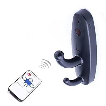 Movimiento activado ropa Hook cámara oculta - Prima Resolución de vídeo - Cámara de vigilancia Mejor Seguridad para el Hogar JUSO018: Amazon.es: Bricolaje y ...