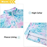 TUONROAD Girls Jacket Fleece Lining with Zipper