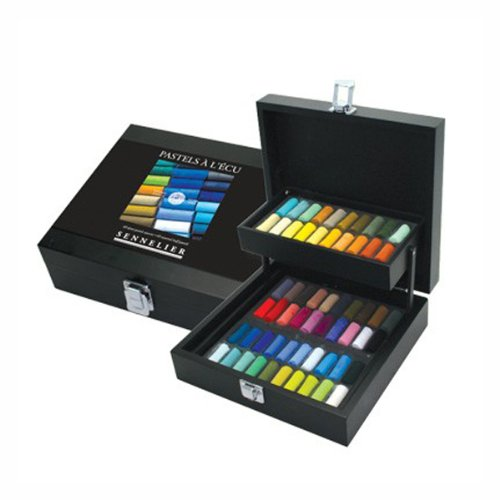 Sennelier Black Box Half Soft Pastel Box 60 by Sennelier