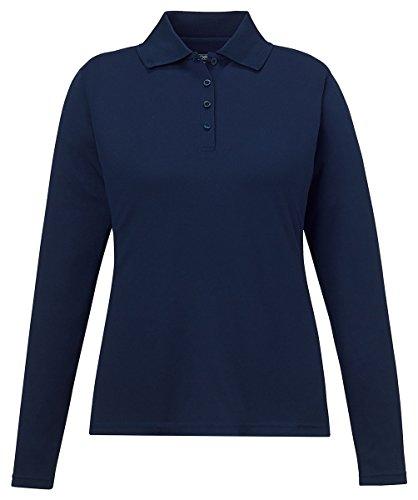 City Golf Shirt - Ash City Core 365 78192 - PINNACLE CORE 365TMLADIES' PERFORMANCE LONG SLEEVE PIQUE POLOS