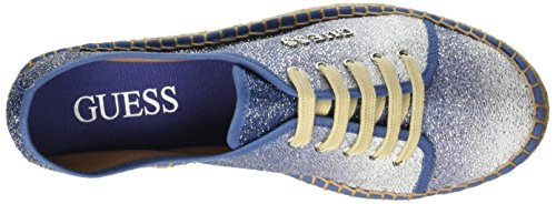 Blu Sneaker Donna Fabric Basse Guess Glitter pZwO11