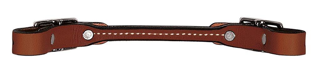 Offriamo vari marchi famosi Weaver Leather Bridle Leather Rounded Curb Strap, Rich Marronee Marronee Marronee  per il tuo stile di gioco ai prezzi più bassi