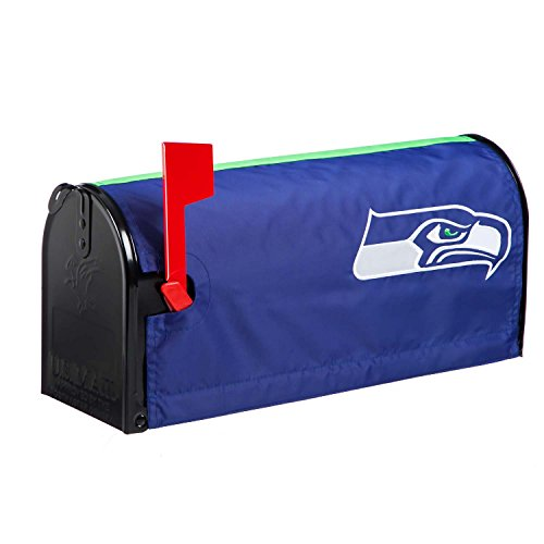 Mailbox Team Cover (NFL Seattle Seahawks 2MBC3827Seattle Seahawks, Mailbox Cover, Blue)