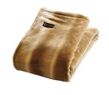 カラー:ローズ カルドニード・ノッテ掛け毛布 ( シングル) 薬用入浴剤10袋付セット