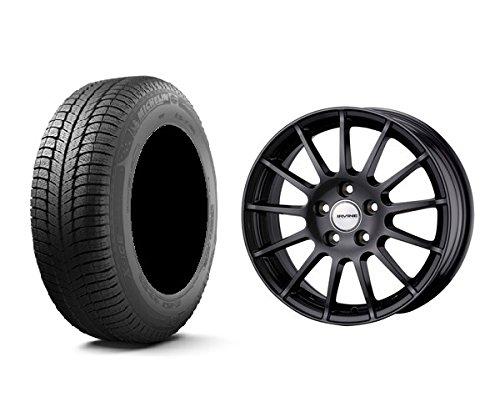 【輸入車 BMW 3シリーズ (4シリーズ)】 スタッドレスタイヤホイール 1本セット 17インチ MICHELIN(ミシュラン) X-ICE XI3 ZP(ランフラット) 225/50R17 98H + アーヴィンF01 GMT(ガンメタ) B076P9BD4V