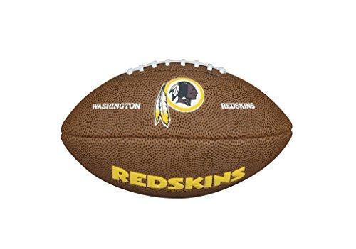(Wilson WTF1533IDWS NFL Team Logo Mini Size Football - Washington Redskins)