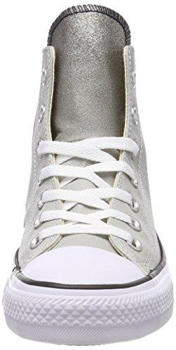 Hautes CTAS Baskets Mixte Black Adulte Ash Converse Grey Gris White Hi xanRd4