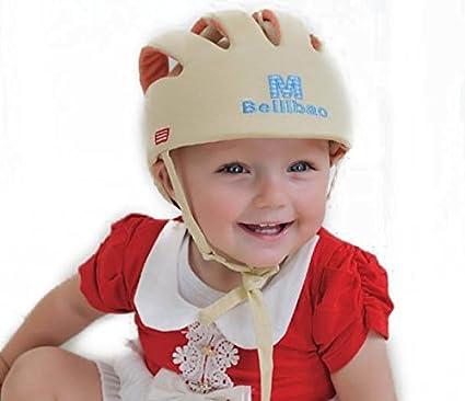 Baby-casco de seguridad para bebé con diseño de anti-colisión de seguridad con