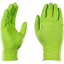 AMMEX - GWGN44100 - Nitrile Gloves - Gloveworks - Disposable, Powder Free