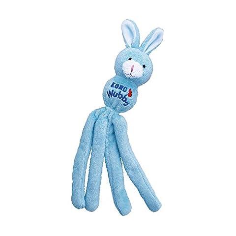 KONG Cat Wubba Bunny, Cat Toy (Colors