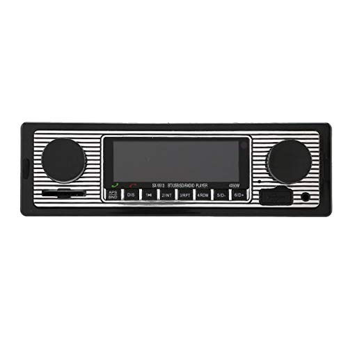 Vintage Autoradio Mp3-speler Stereo USB AUX Klassieke Auto Stereo Audio Car MP3 player input EQ 4-way RCA output