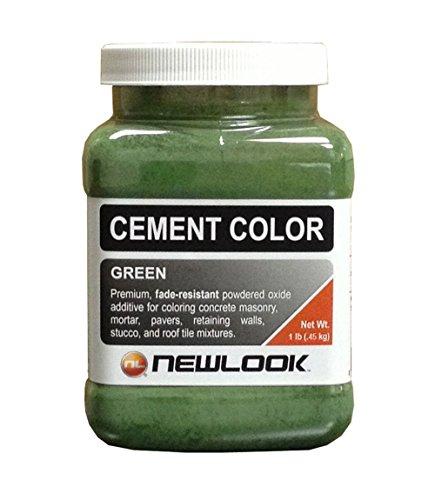 CEMENT COLOR 1 lb. Green Fade Resistant Cement (Fade Green)