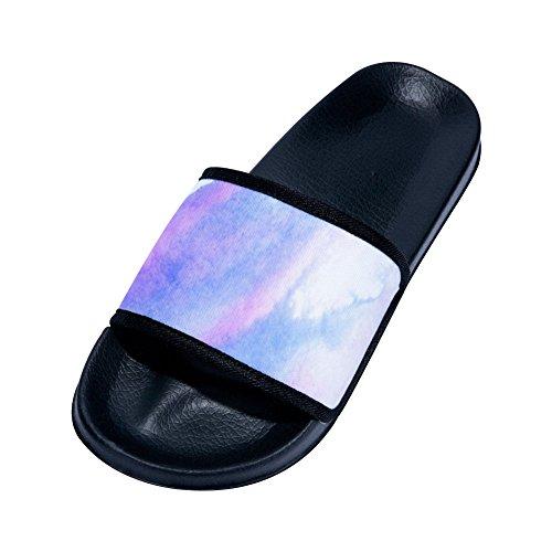 para Rápido Nube Mujer Negro de Antideslizantes de Zapatillas Secado Gradient Diseño wIqSXRC