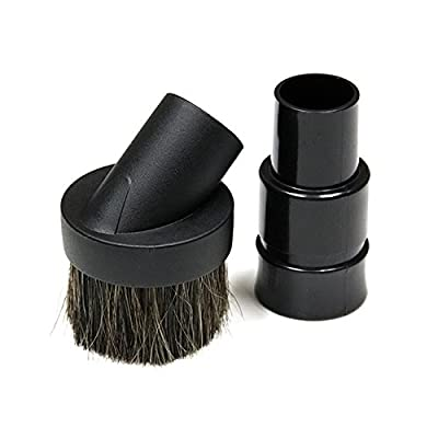 MaximalPower Round Vacuum Cleaner Attachment Dusting Brush Tool Replacement for MOST Shark Lift-A-Way Vacuums