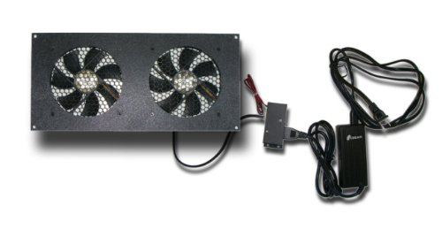 Dual 120mm Thermal Control Fan Kit: Amazon.co.uk: Computers ...