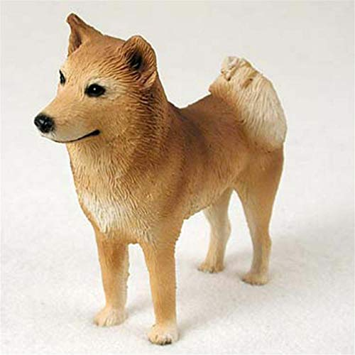 Ky & Co YesKela Finnish Spitz Figurine Hand Painted Statue
