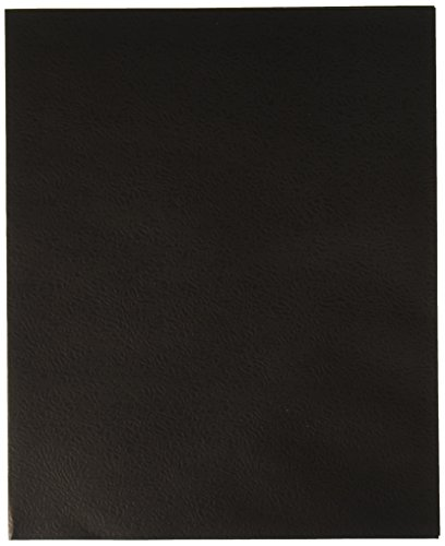School Smart Heavy Duty 2 Pocket Folder - 8 1/2 x 11 inch - Pack of 25 - Black