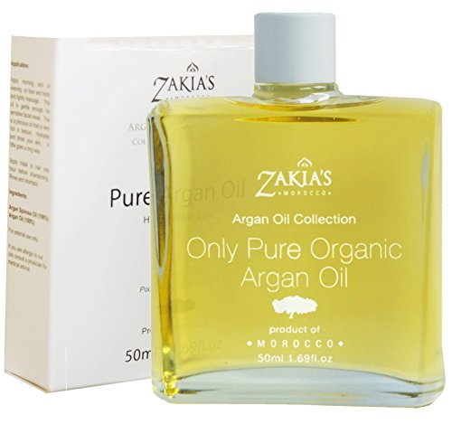 Argan Oil - 100% Pure, Organic & Natural- 50ml