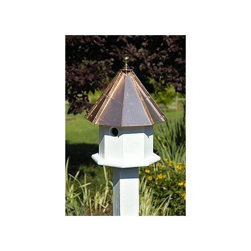 Octavian Birdhouse Bright Copper Roof