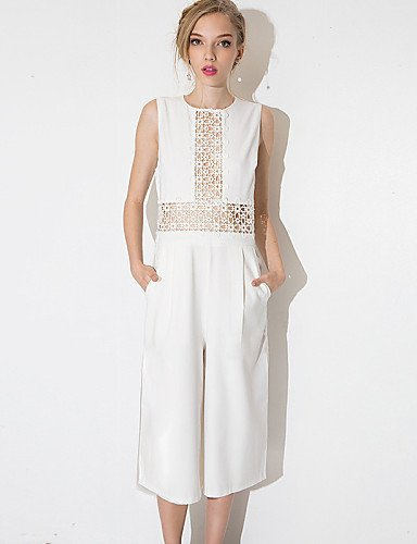 Vintage White Jumpsuits