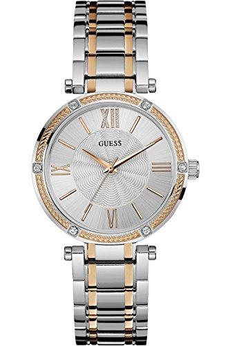 GUESS W0636L1,Ladies Dress Elegant,Stainless Steel case & Bracelet,Two Tones,WR