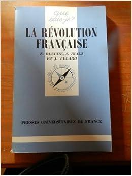 La Revolution Francaise by Fr??d??ric Bluche (1998-12-31)