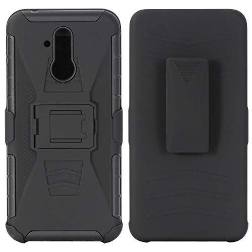 - AIIYG DS for Huawei Mate 20/Mate 20 Lite/Mate 20 Pro Case,Heavy Duty Full Body Kickstand Belt Clip Holster Hybrid Shockproof Protective 3 in 1 Case Military Outdoor Sport (Huawei Mate 20 lite)