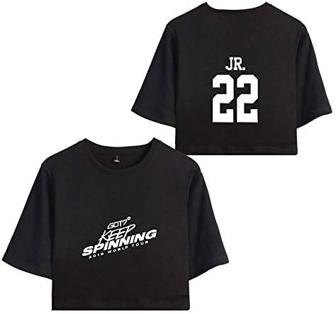 KPOP GOT7 Camisetas Estampada T-Shirt Keep Spinning tee Manga ...