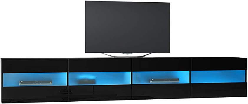 Brico Doble - Mesa Flotante Para TV / Mueble TV (200 cm, con ...