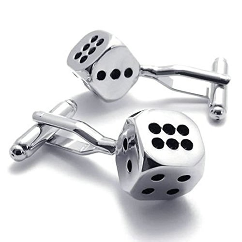 Classic Personalized Shirts Cufflinks Silver product image