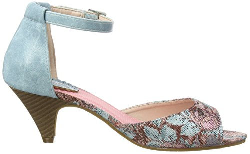 Joe Browns Sunday In Seville Shoes - Tacones Mujer Multicolour (a-blue/pink Multi)