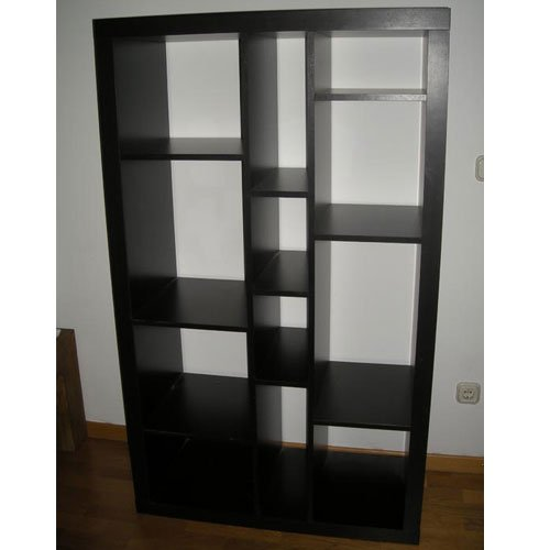 amazoncom ikea expedit bookcase tv stand multi use black brown kitchen dining - Ikea Bookshelves Expedit