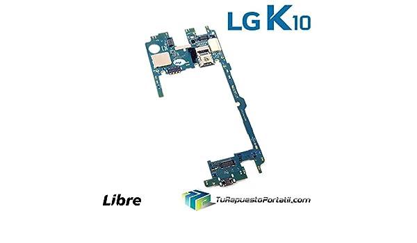 Placa Base Motherboard LG K10 2017 M250N 16GB Libre: Amazon.es ...