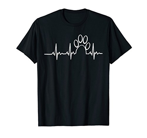 Heart beat Dog rescue t shirt (Salty Dog T-shirts)