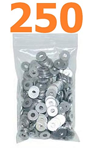 250Pk Back-up Rivet Washers 1//8 fits 1//8 Pop Rivets IMCA Racing Fasteners Quick Delivery